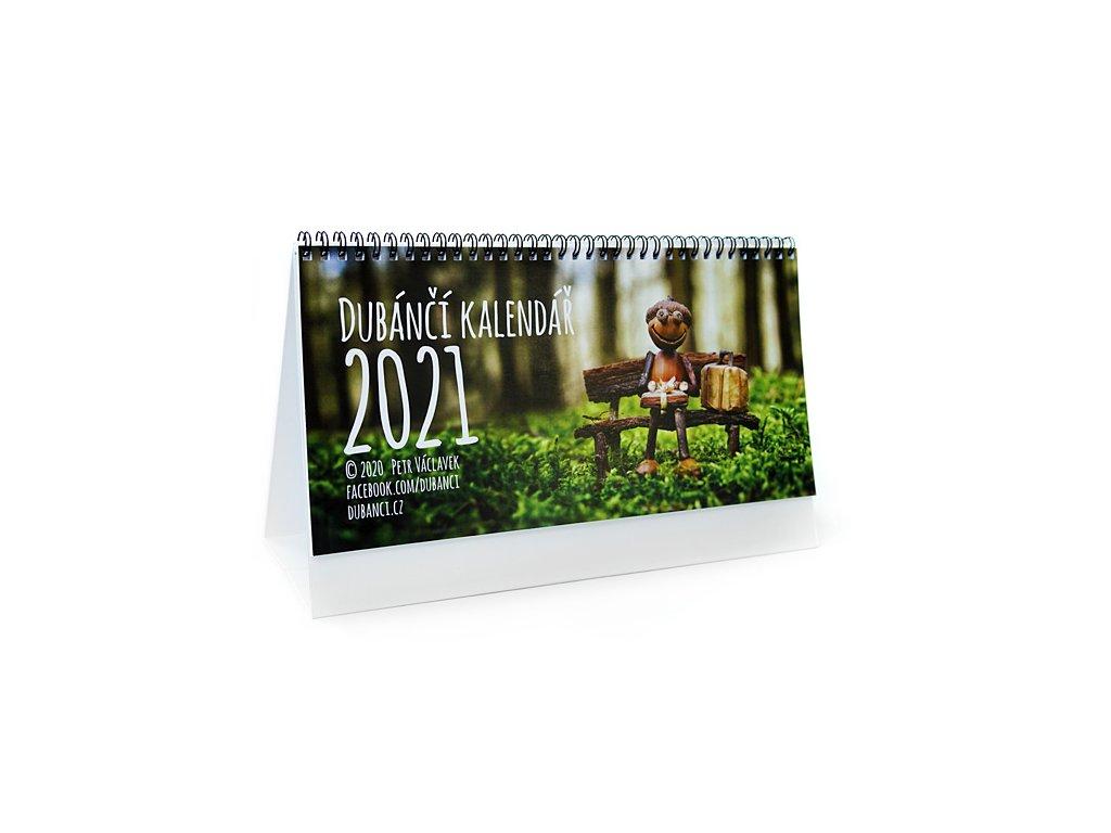 Stolní dubánčí dvoutýdenní kalendář 2021
