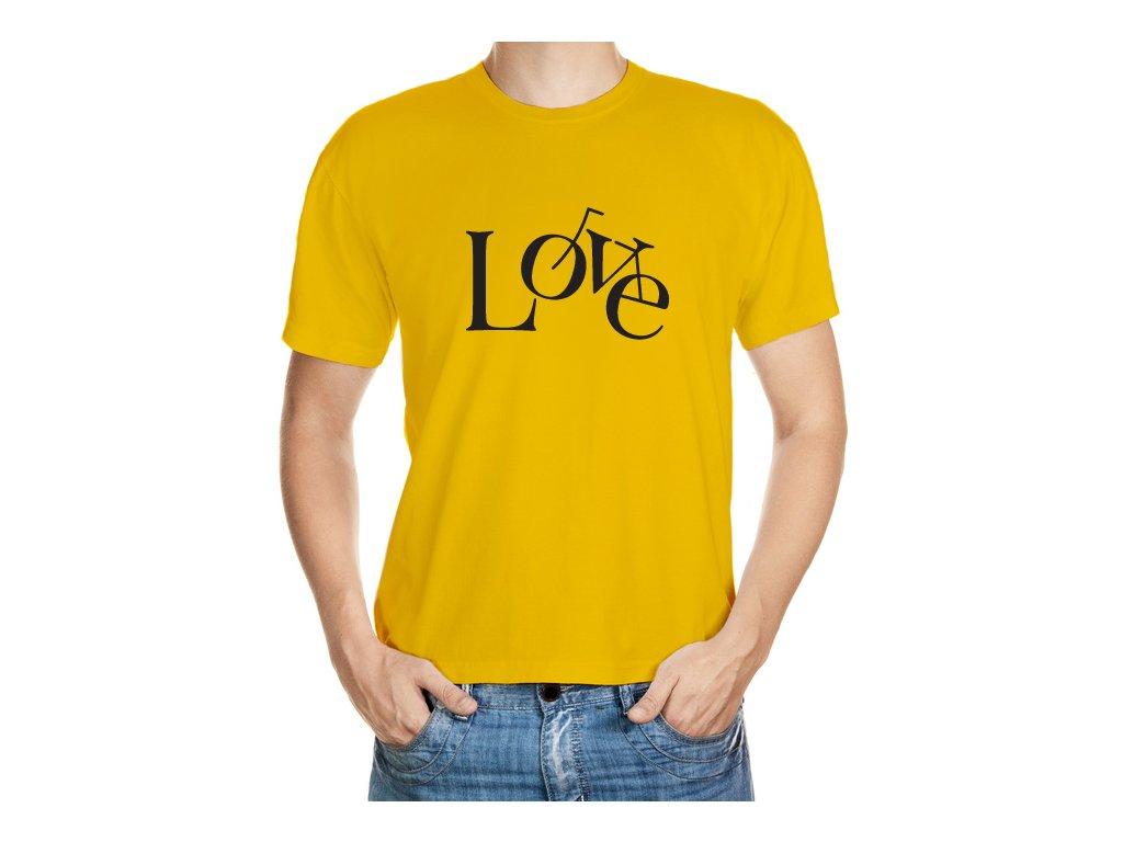 Cyklo Love tričko
