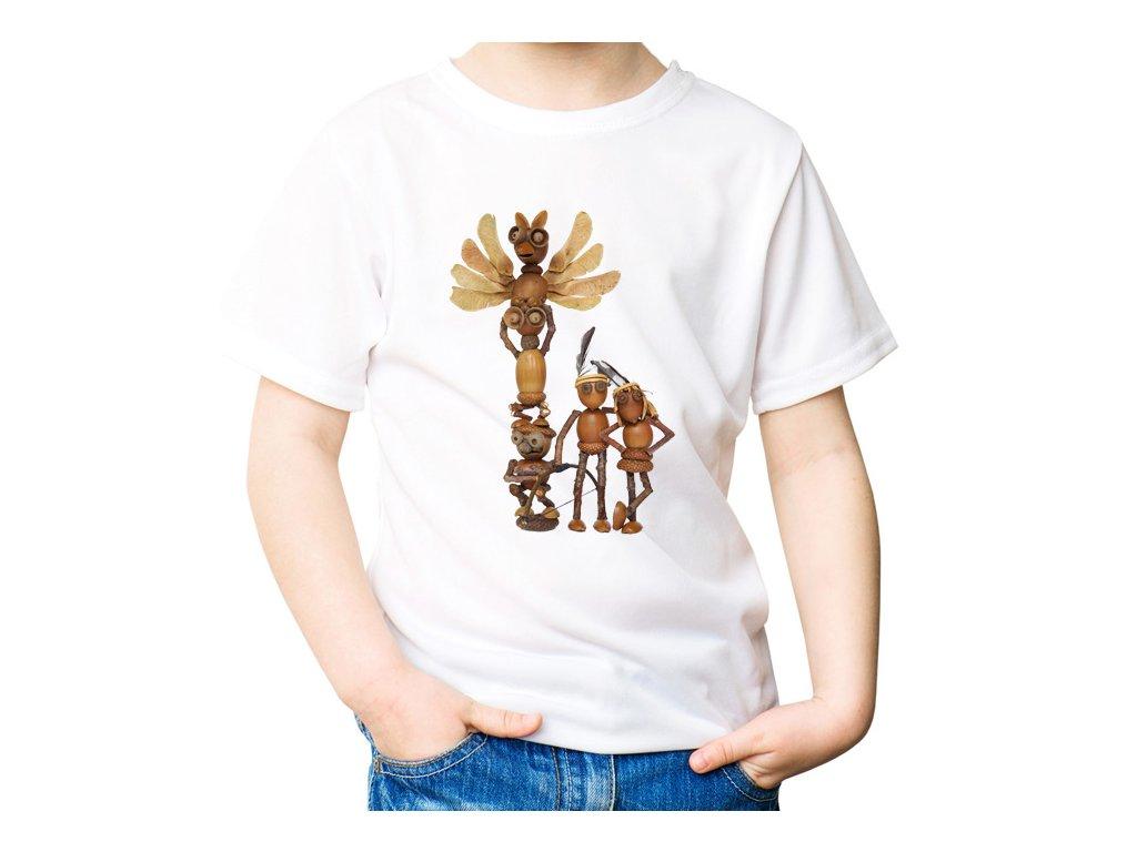 Tričko s dubánčími indiány