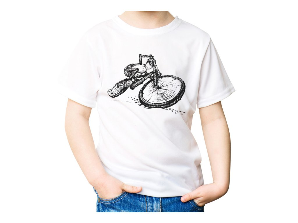 Akční dubánek cyklista