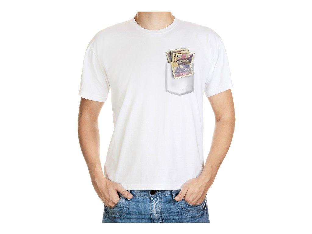 Tričko s penězi