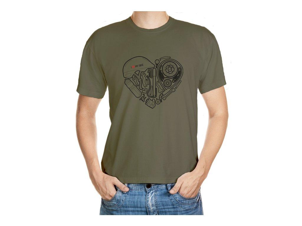 Cyklo srdce (černá verze)
