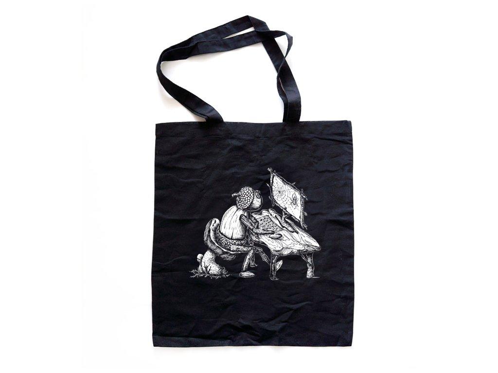 Černá taška s dubánkem programátorem
