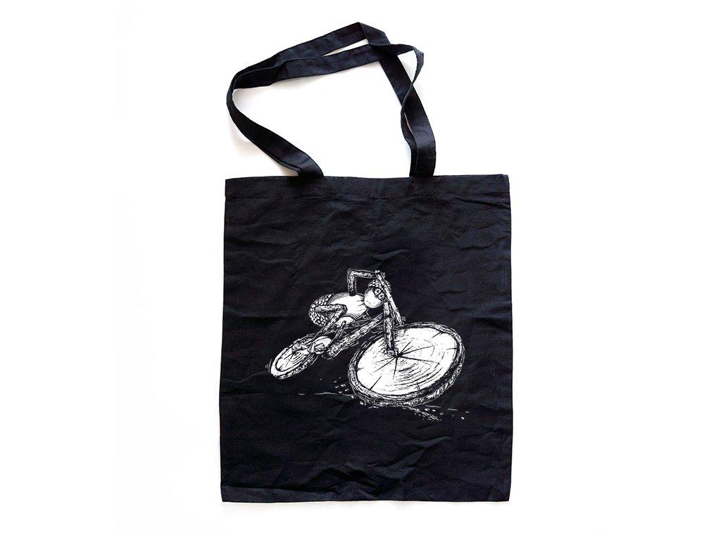 cerna taska akcni cyklistal