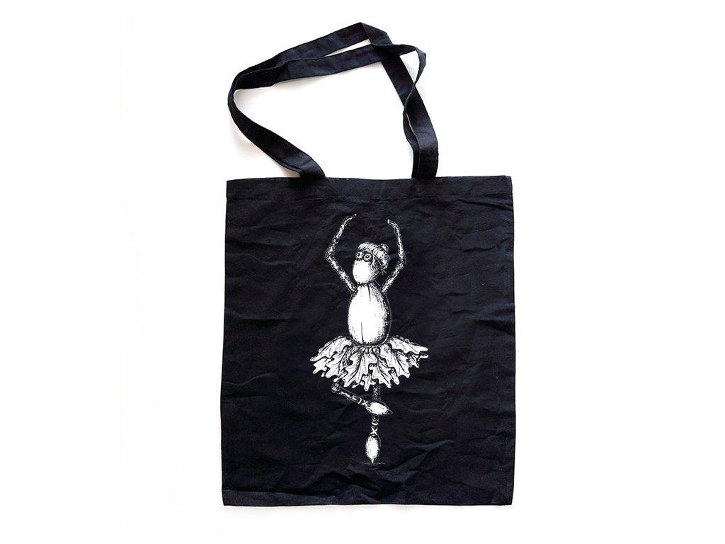cerna taska baletka