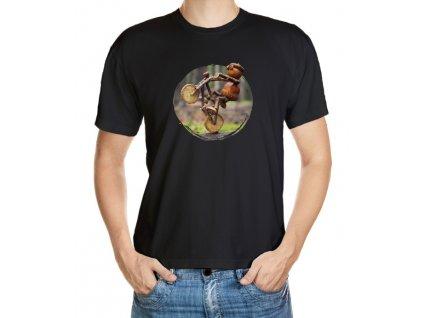 Tričko s dubánkem jak frajeří na kole