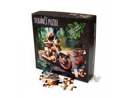 Dubánčí puzzle v krabičce, 100 dílků