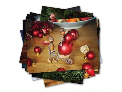 Nové vánoční pohlednice