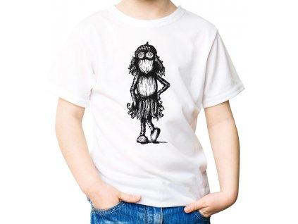 Tričko s kreslenou duběnkou