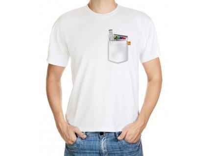 Tričko s kapsou Illustrátor