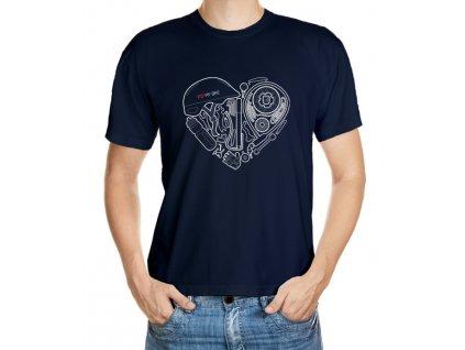 Cyklo srdce (bílá verze)
