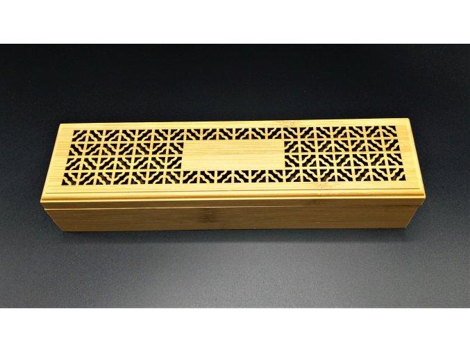 Bambusová krabička na vonné tyčinky