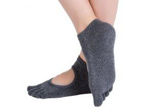Ponožky na jógu s prsty
