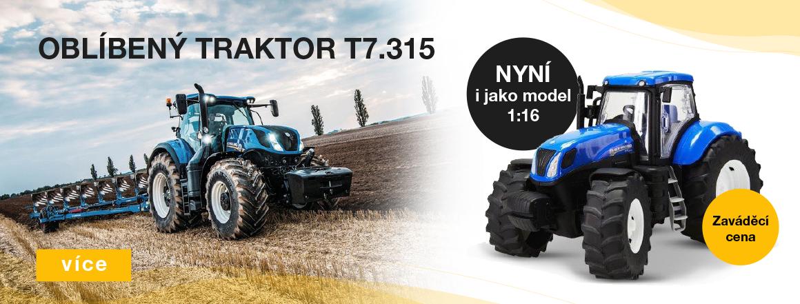 Oblíbený traktor T7.315