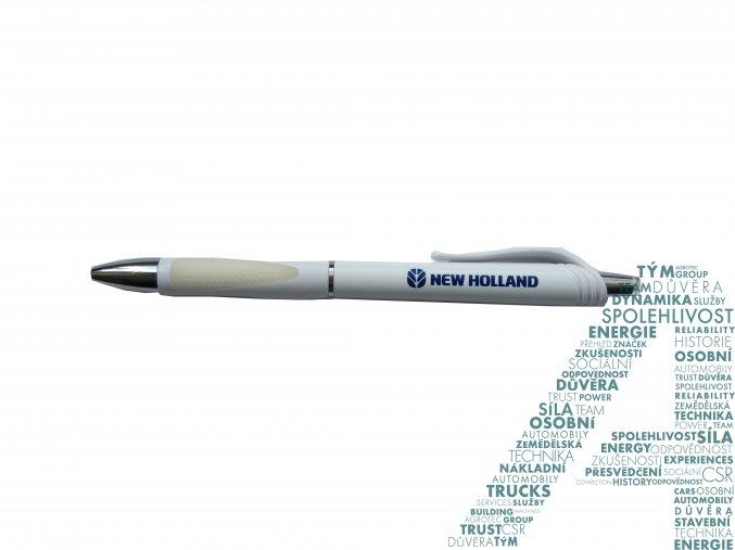 Bílá propiska New Holland - Agriculture