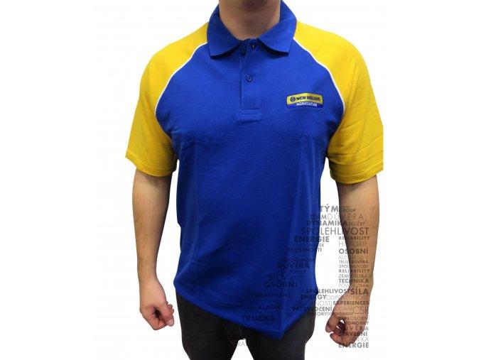 Polotriko - žluto modré