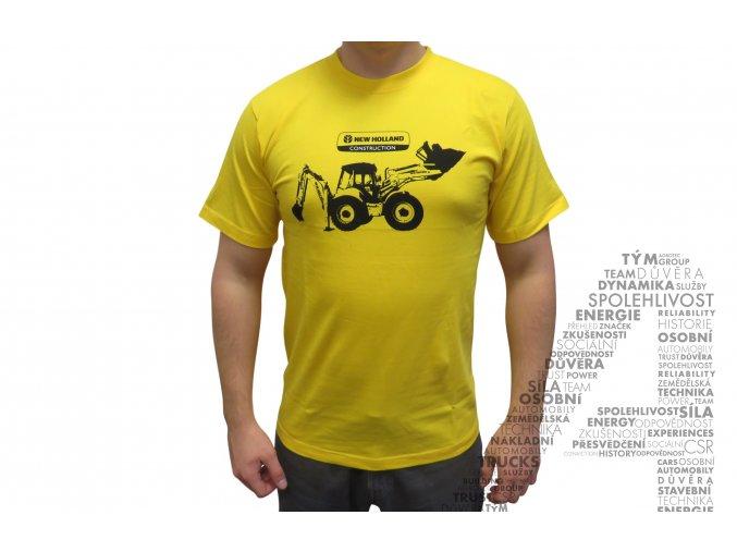 Žluté triko s obrázkem