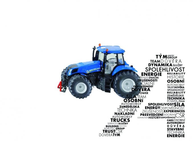 Model traktoru T8.390