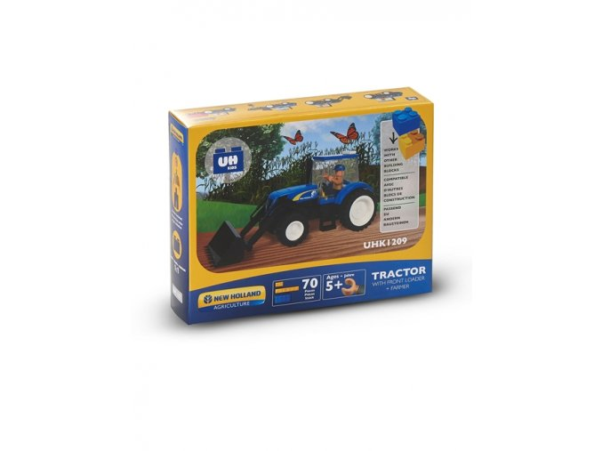 tractor loader bricks 70pc