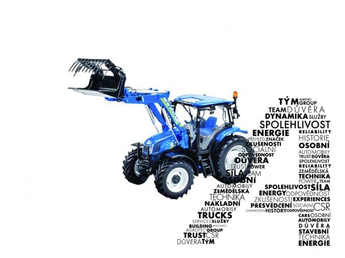 Model traktoru T6.140