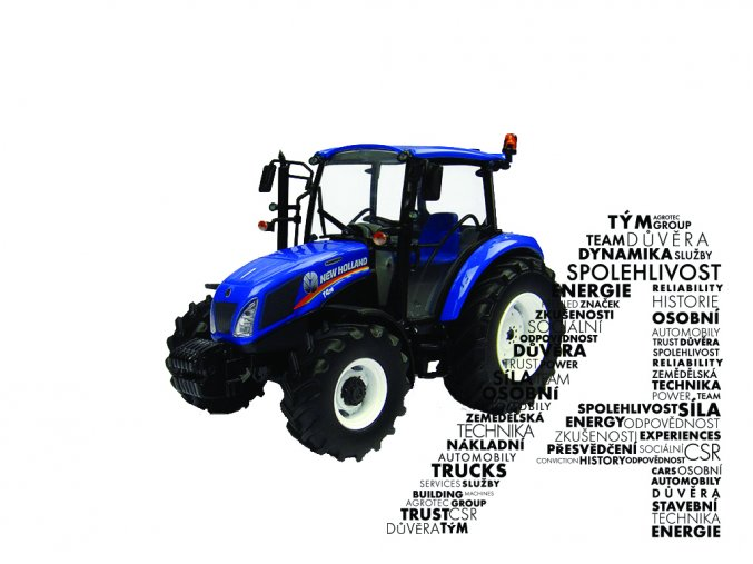 Model traktoru T4.65