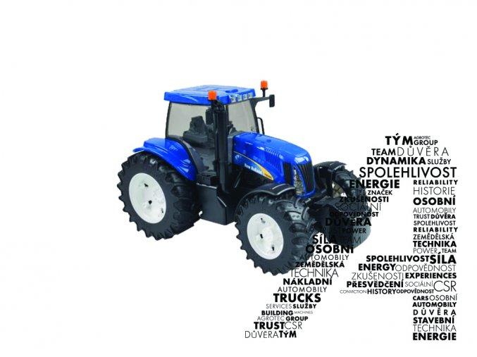 Model traktoru T8040