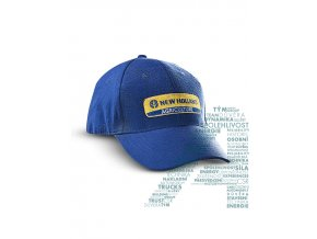 0002700 cap with embroidery blue 660