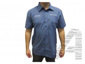 Košile s krátkým rukávem s logem AGROTEC