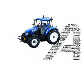 Model traktoru T5.120