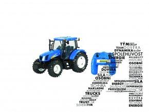 Model traktoru T6070 na dálkové ovládání