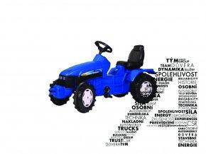 Šlapací traktor TD5050