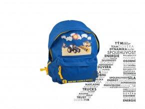 Dětský modrý batoh