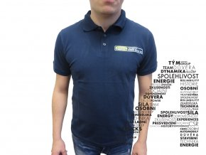 Modré triko Top Sevis