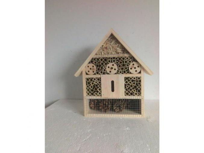 HUHU Drevený domček pre hmyz