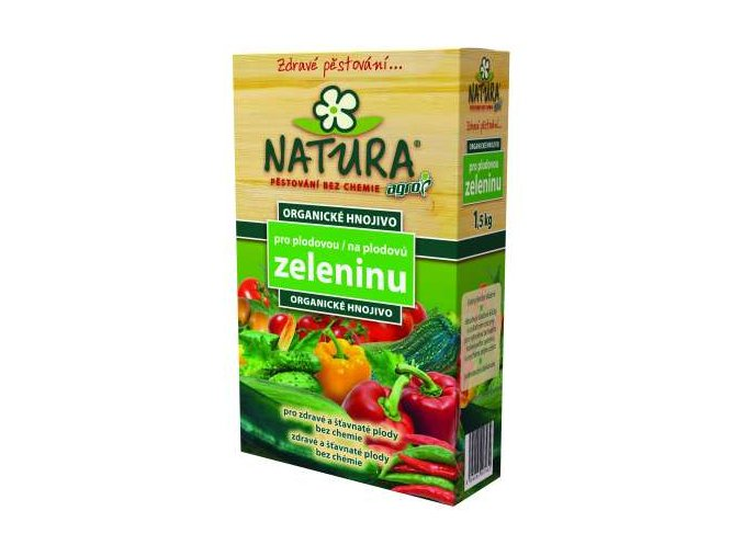 natura organicke hnojivo na plodovu zeleninu 15kg