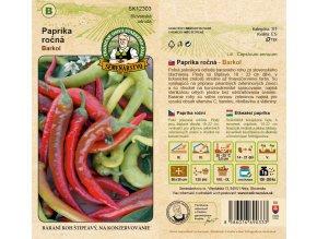 Paprika ročná - viac odrôd