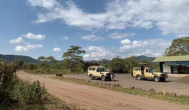 Tanzanie - prach a prachy