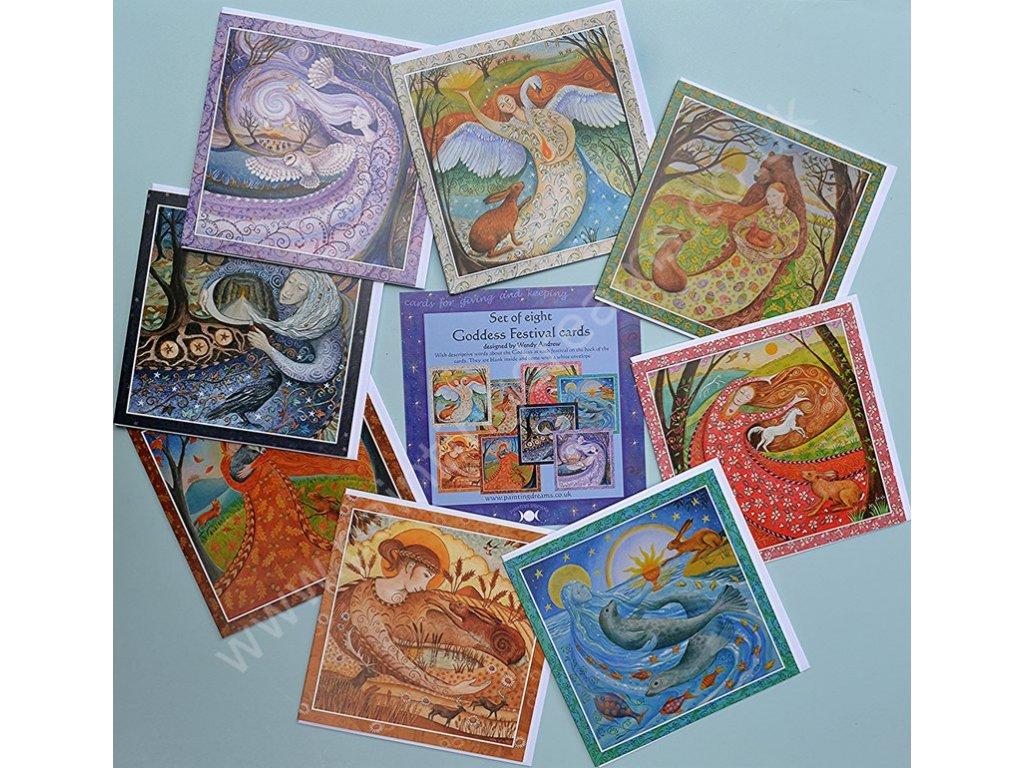 Goddess Festival Card Set