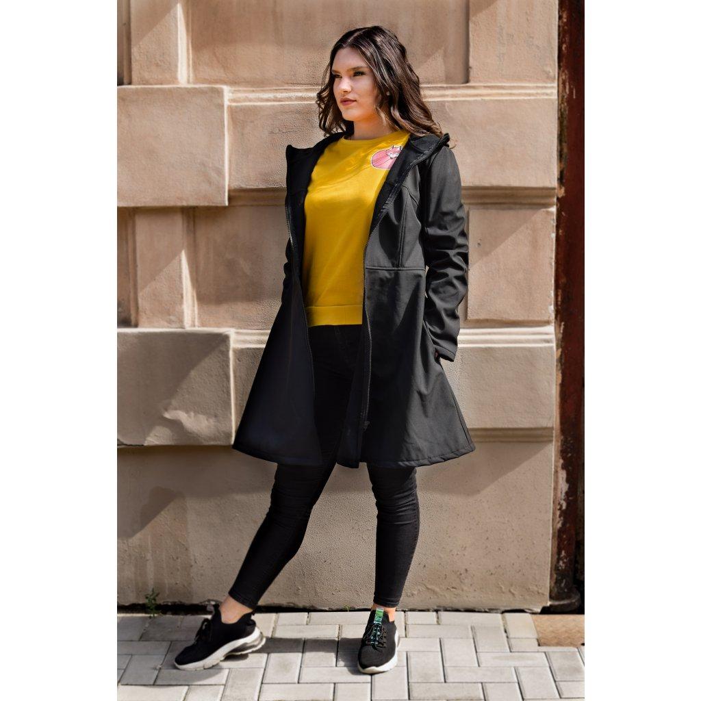 Kabát Molly - Černá