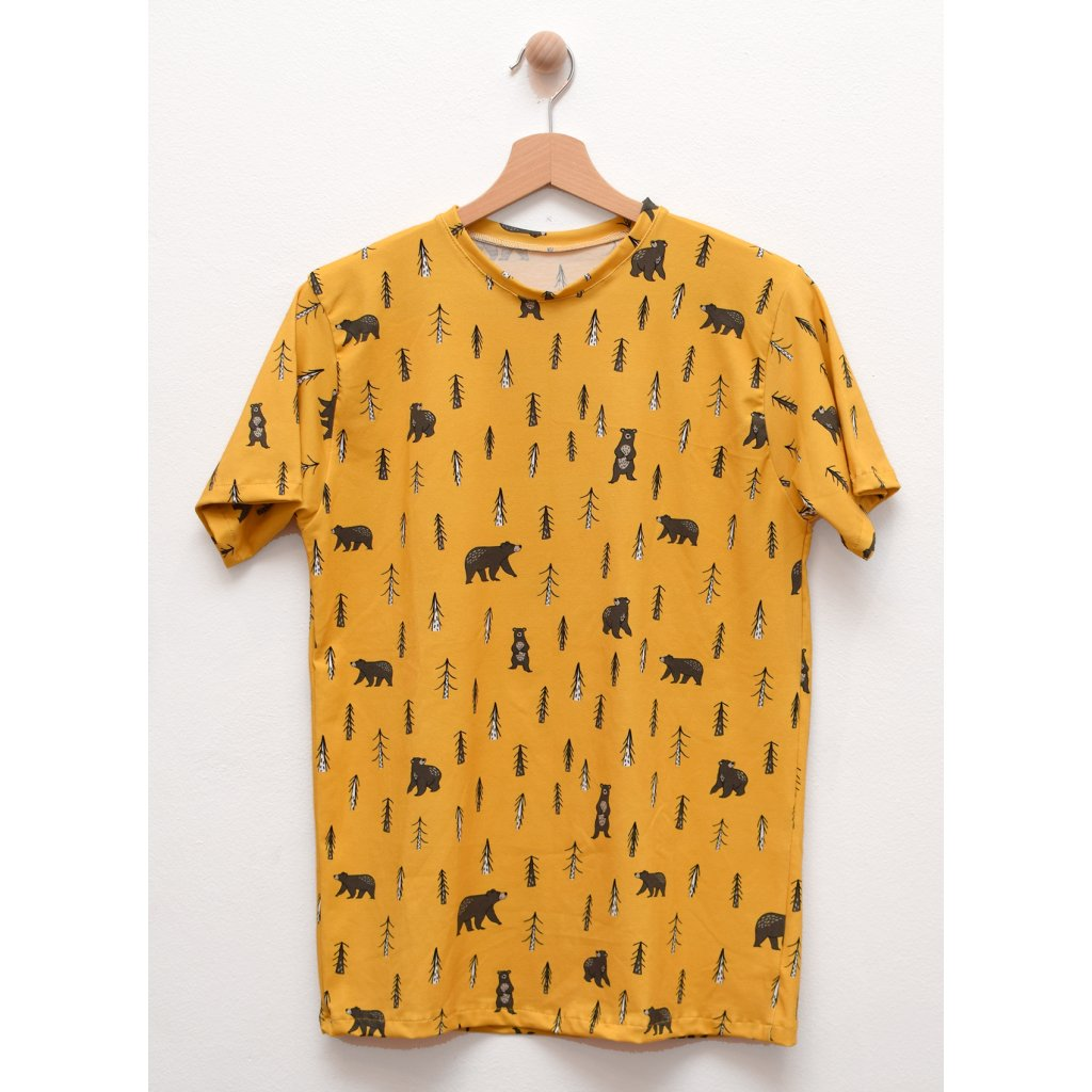 Nemo - pánské triko Medvědí