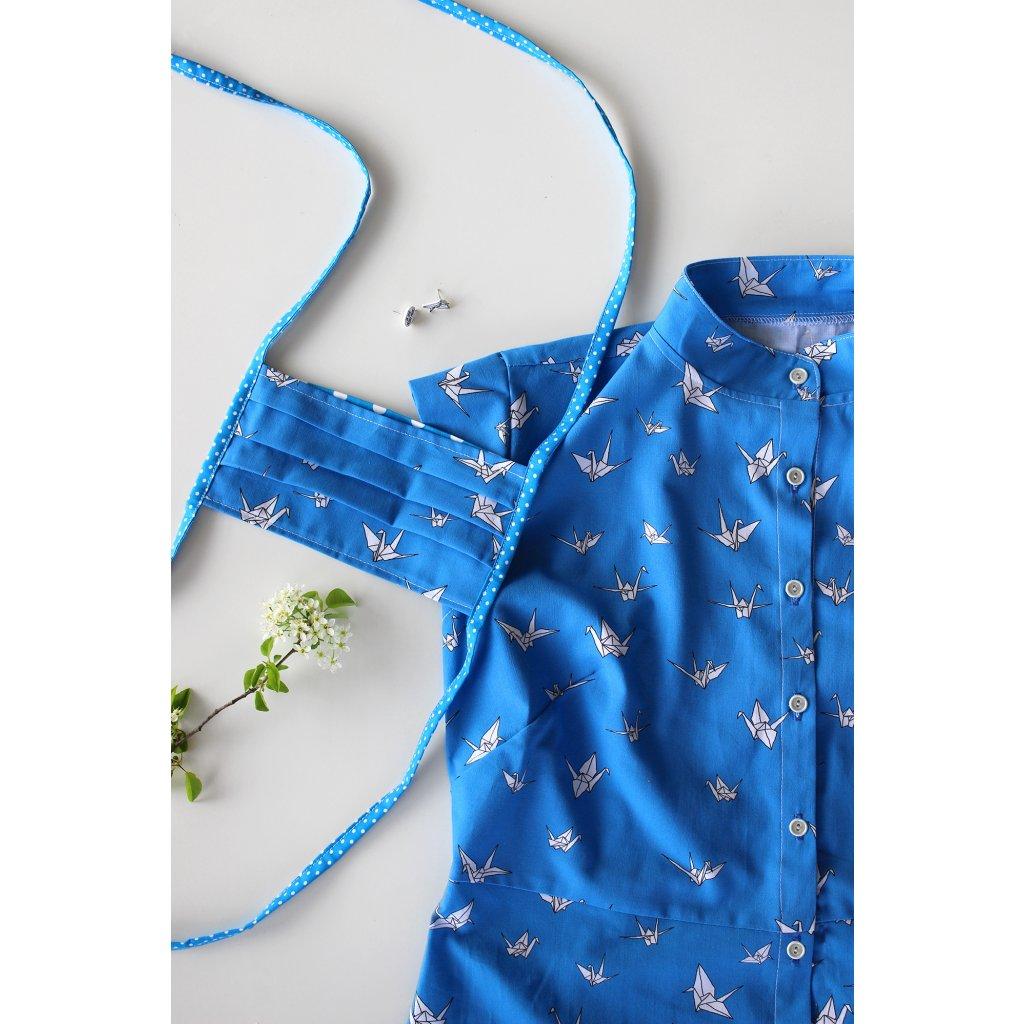 Šaty Michelle - Origami jeřabí