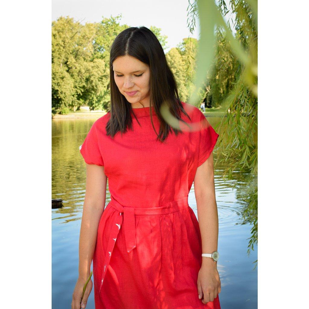 Šaty Laura - červená