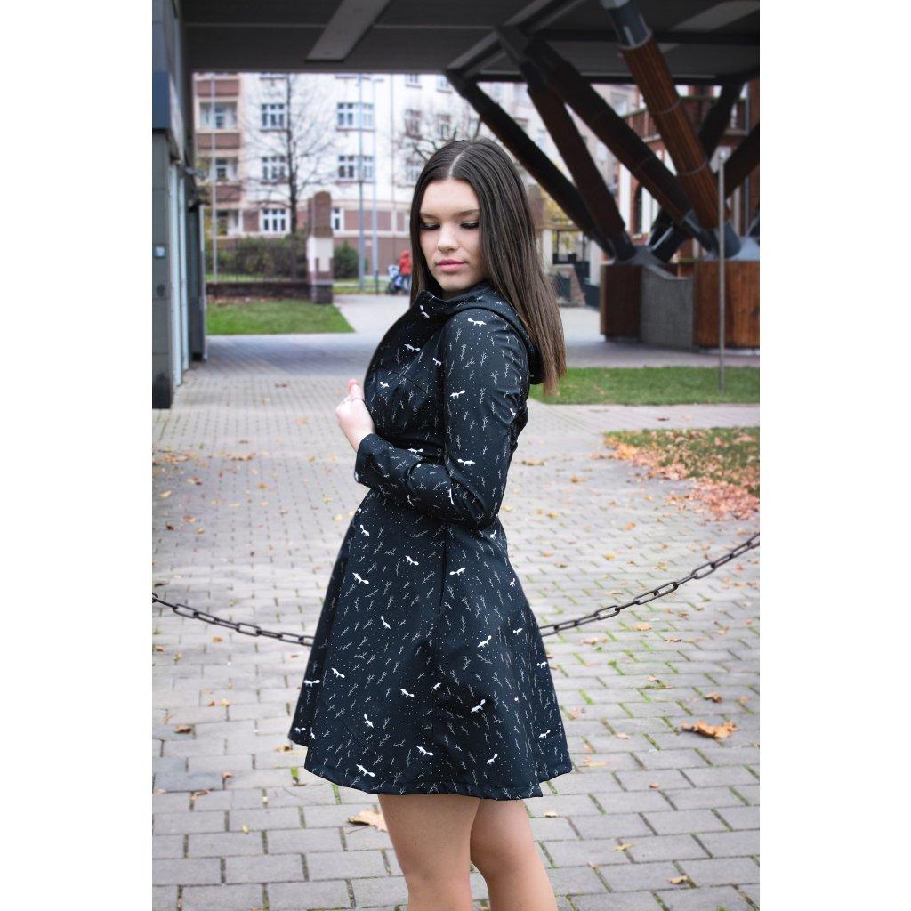 Kabát Molly - Bílá liščí