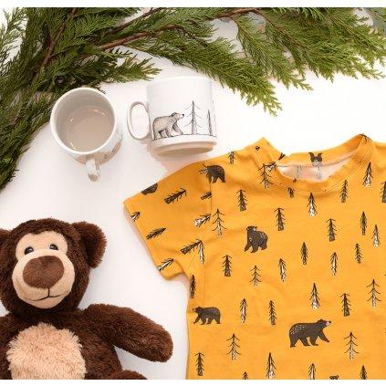 Nemo - dětské tričko Medvědí