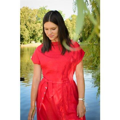 Laura - červená