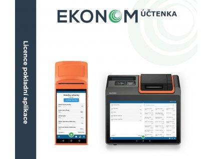 Licence EKONOM Účtenka