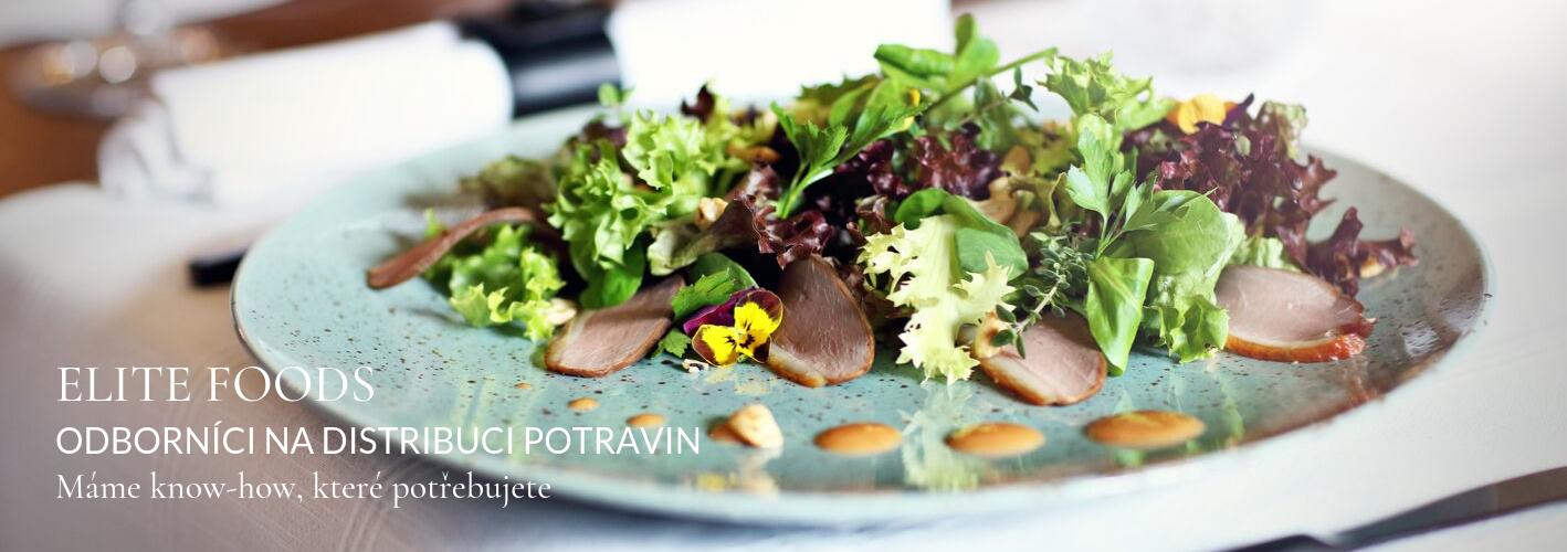 Elite Foods gourmet plate