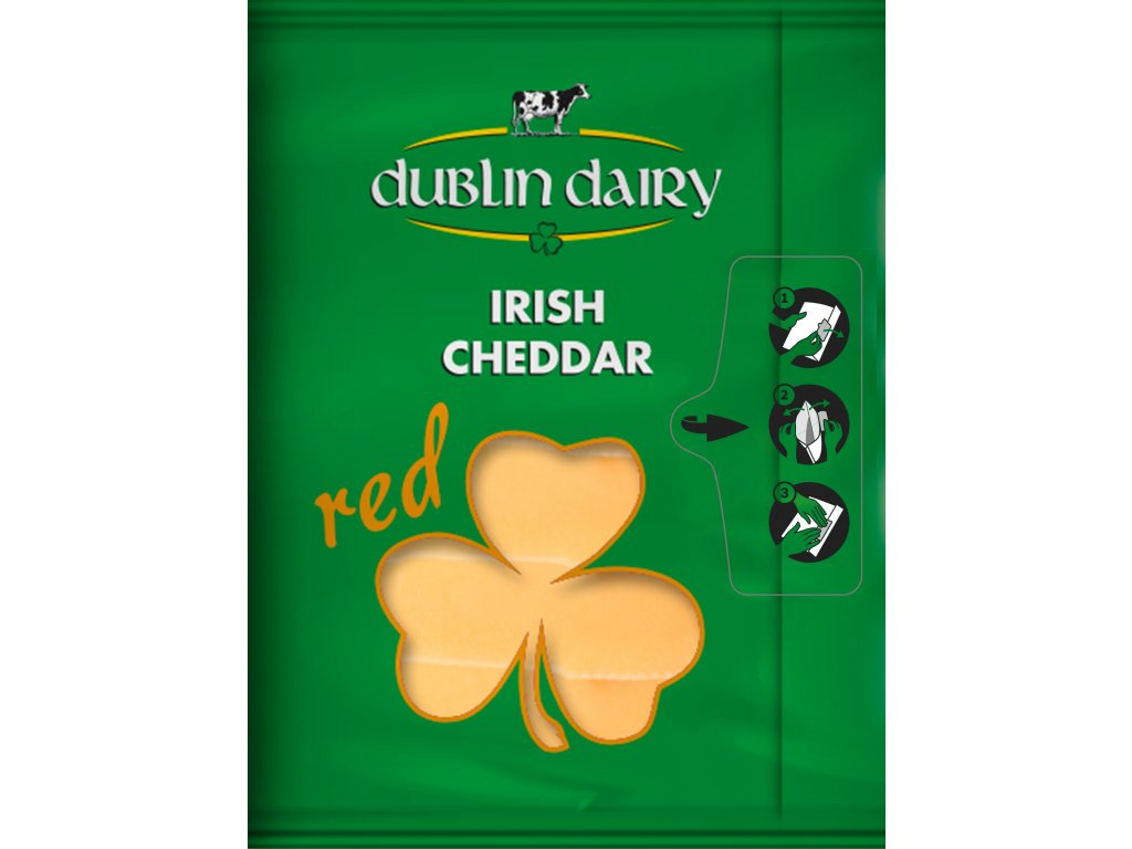 Dublin Dairy Cheddar Red slices