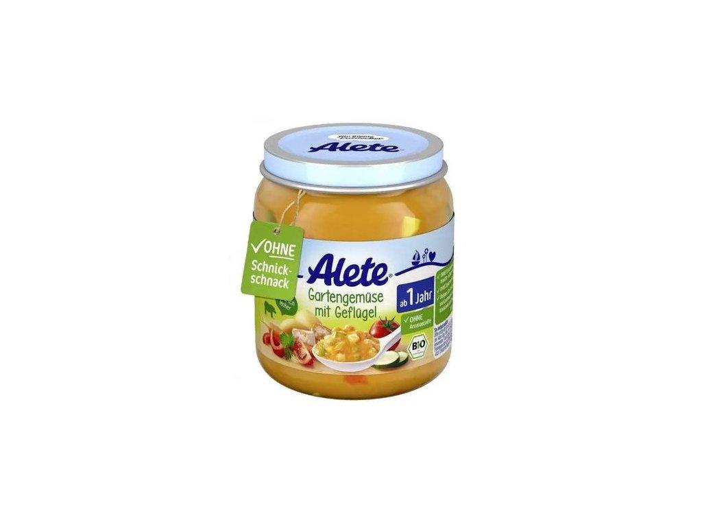 2192 bio garden vegetables baby food with turkey meat 250g