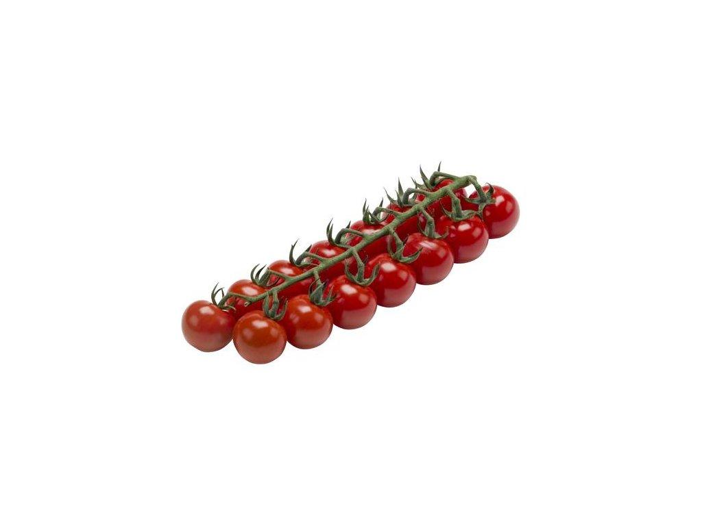 Tomatoes cherry red vine